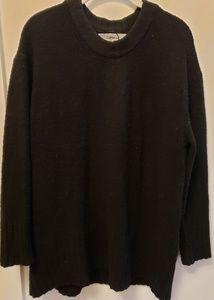 Zara oversized Black sweater